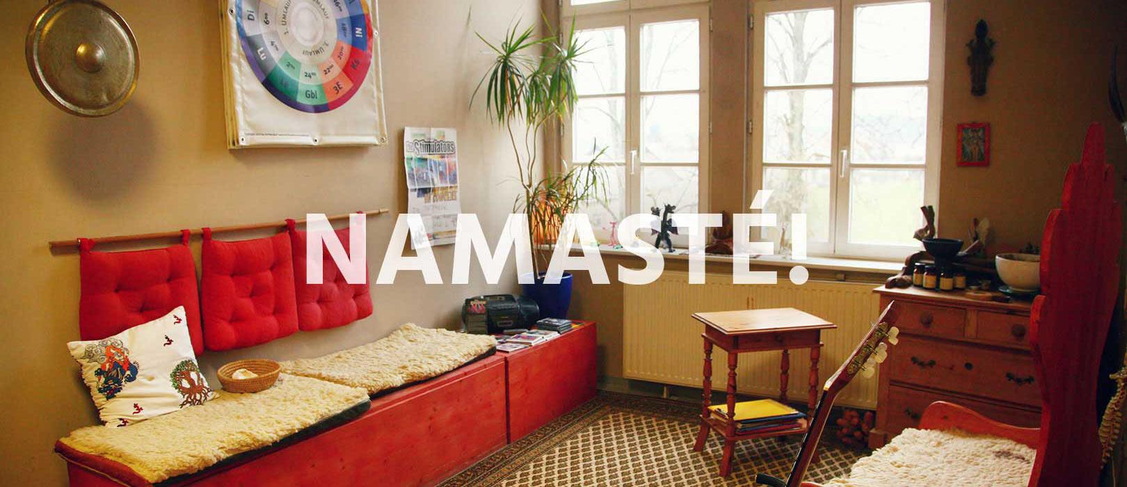 Das Besondere am Saralta®Yoga ist die therapeutische Methodik und so auch der leichte Einstieg in die Welt des Yoga.